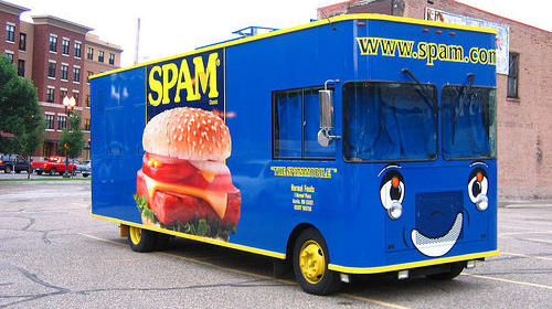 Magic spam bus